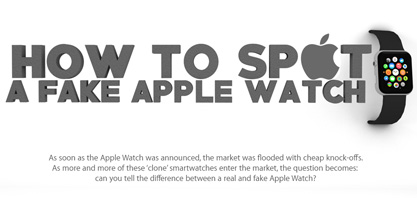 Hur platsen en Fake Apple Watch