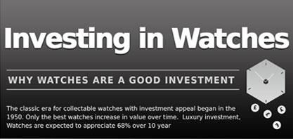 Investera i klockor