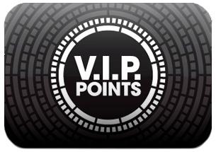 Tjäna VIP-poäng för shopping och mer